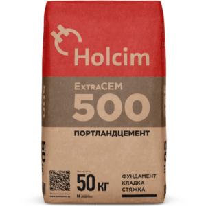 Портландцемент Holcim ExtraCEM серый 50 кг