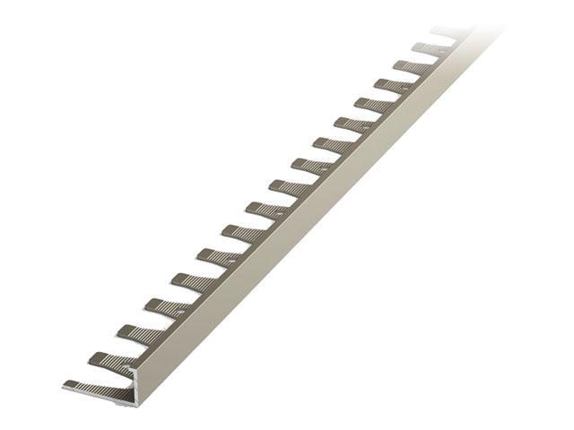 Описание профиль для кафеля алюминиевый кант гнущийся 10х2700 мм