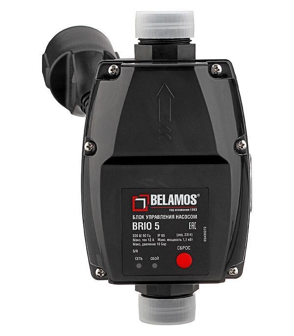 Описание Блок автоматики для насоса Belamos (Brio-5) с манометром и кабелем