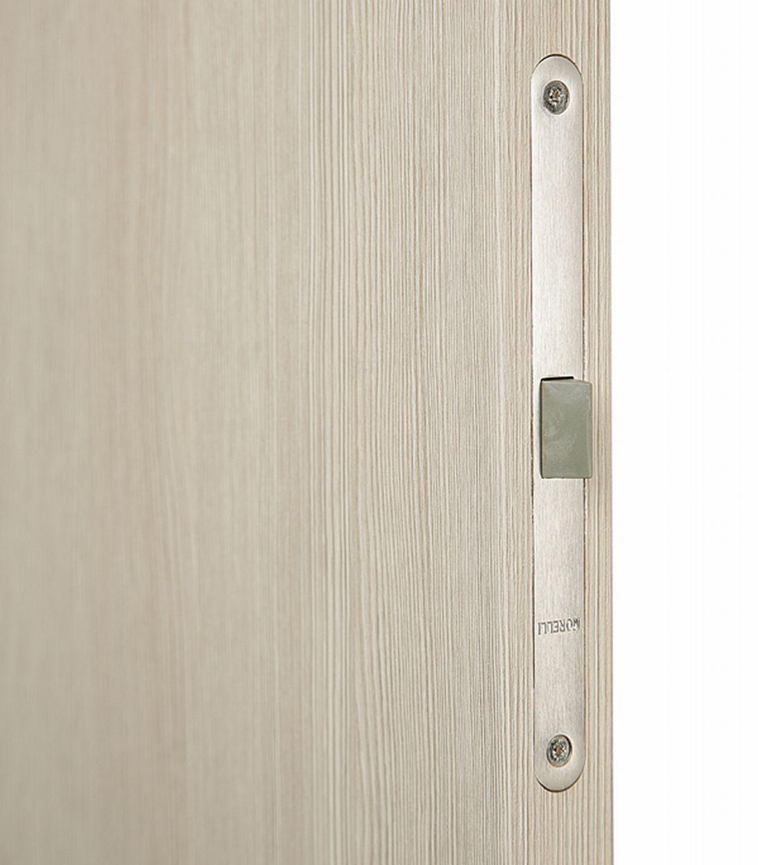 Описание Дверное полотно VellDoris Vision 2 капучино со стеклом экошпон 800x2000 мм