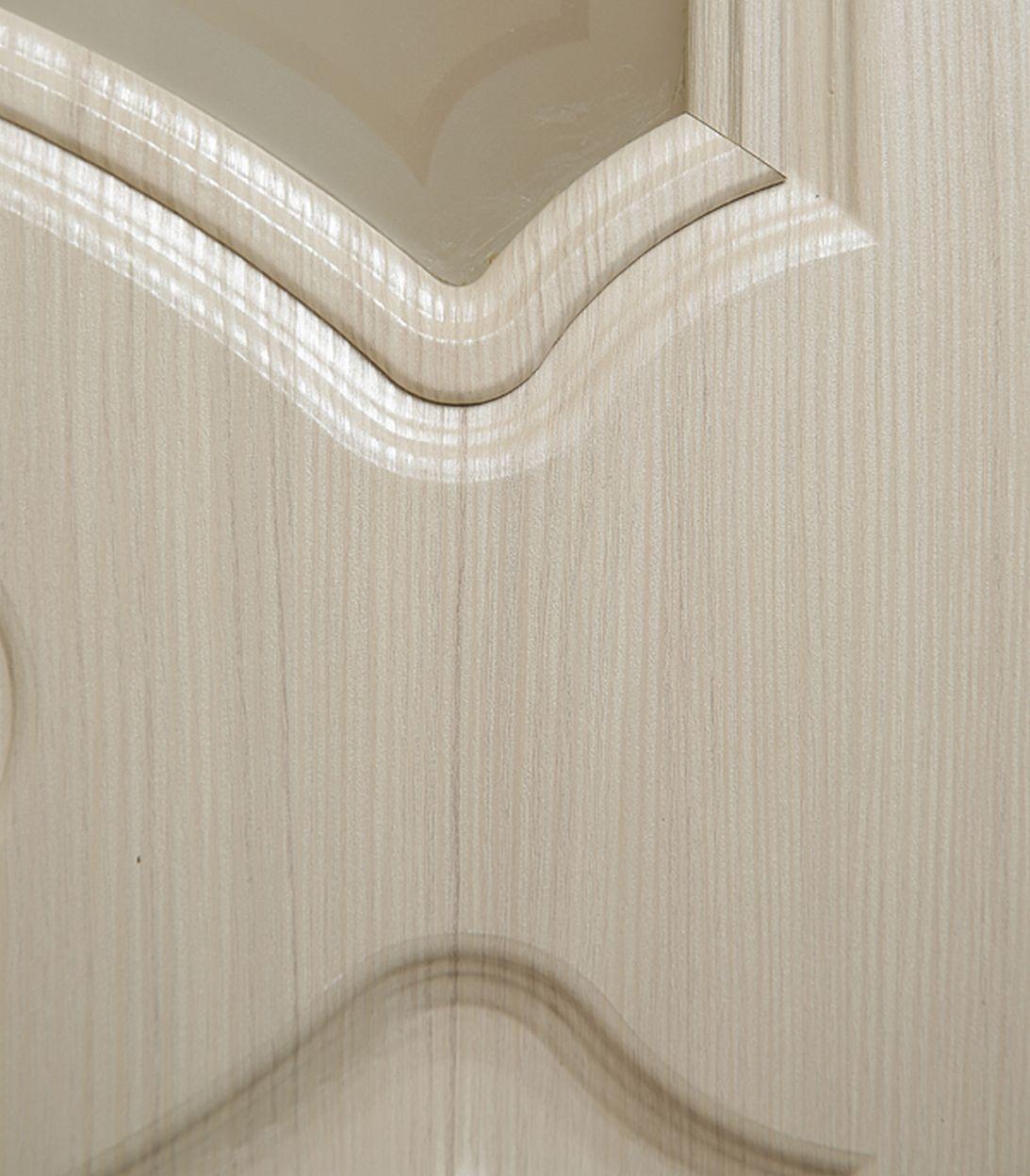 Описание Дверное полотно Verda Афина беленый дуб мелинга со стеклом экошпон 700x2000 мм