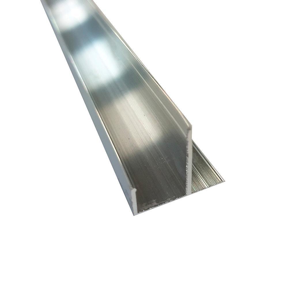 Описание F-профиль (12 мм)  алюминиевый 3м 1мм