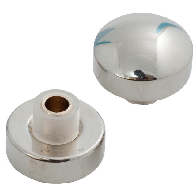 крепление для зеркал 16мм полусфера никель 2шт