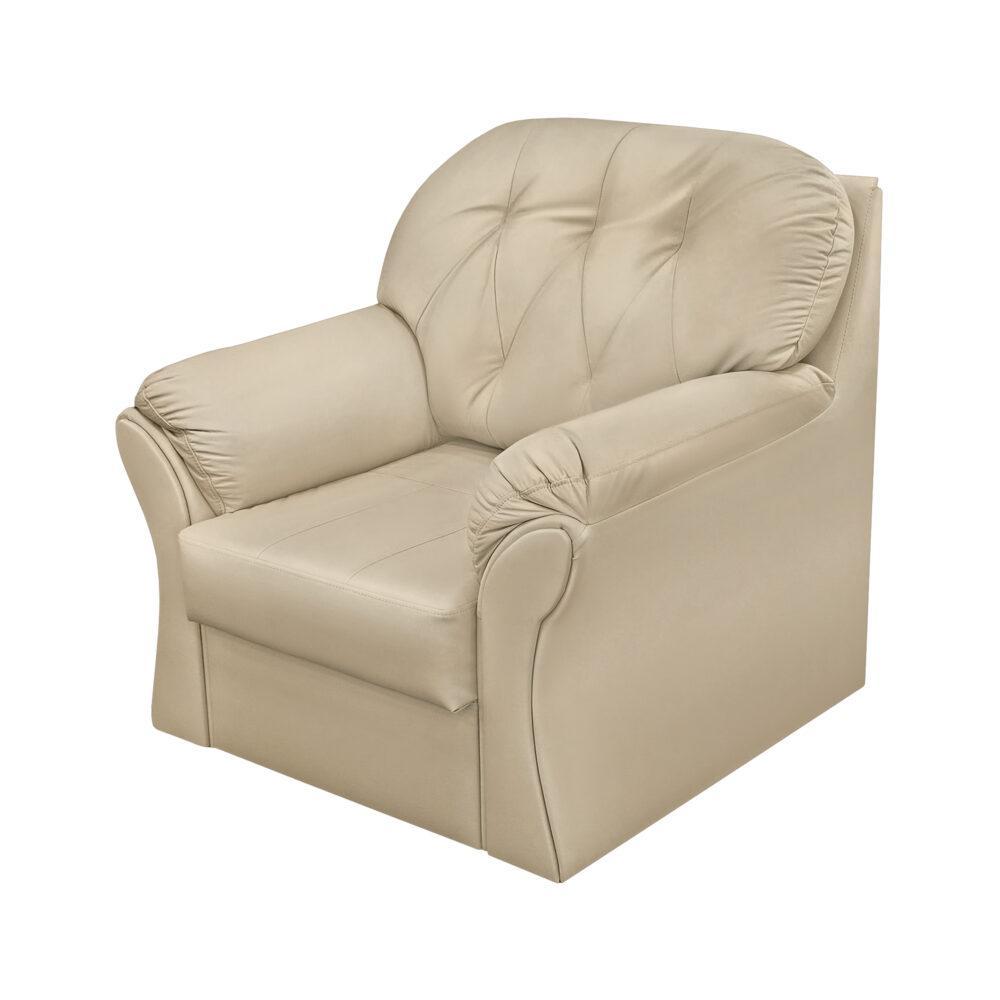 Кресло ФС Ноа натуральная кожа натуральный 110x98x95
