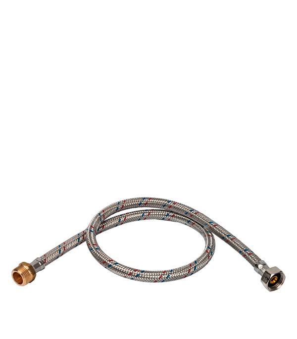 Описание Подводка гибкая для воды Stout (SHF 0088 081518) 1/2 ВР(г) х 1/2 НР(ш) 80 см