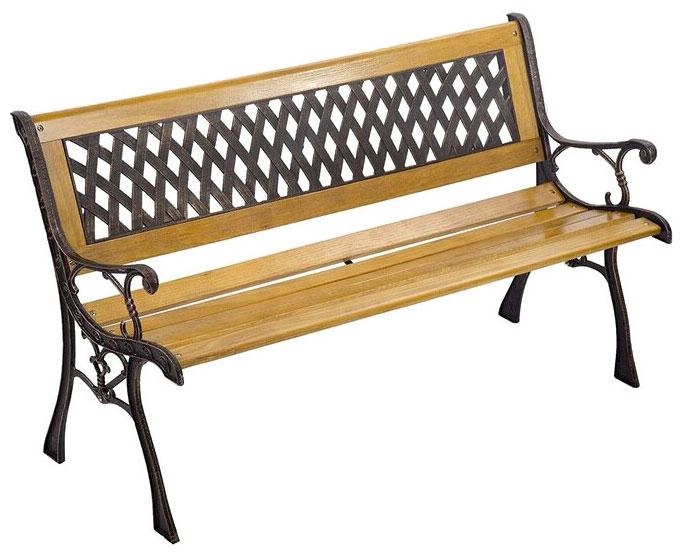 Описание Скамейка Мебельторг WR5107  коричневый