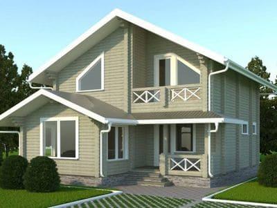 Расчет сметы на строительство дома из бруса