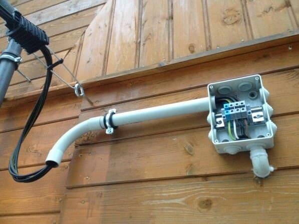 Какой кабель можно использовать на улице?
