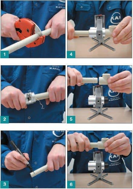Технология сварки пластиковых труб своими руками