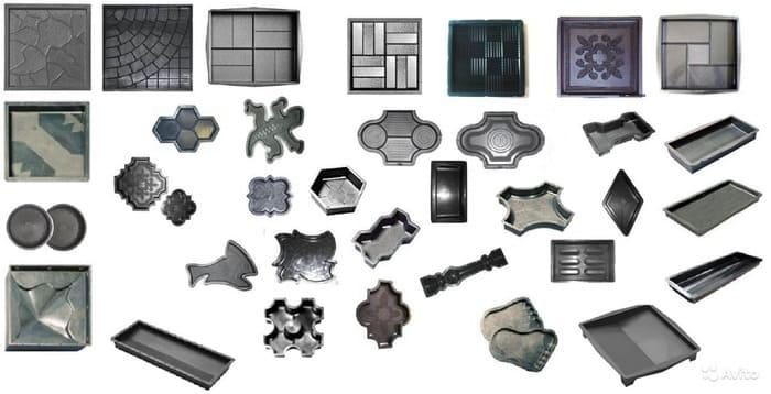Тротуарная плитка формы для изготовления