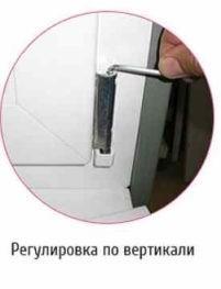 Как регулировать пластиковые окна по вертикали